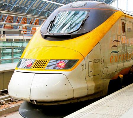 Eurostar Class 373, Βρετανία, Γαλλία, Βέλγιο